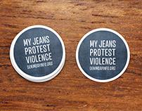 Denim Day Stickers