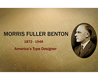 Morris Fuller Benton - Masters of Typography