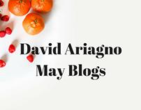 David Ariagno May Blogs