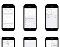 UX Wireframes for Local Event Search and Booking App