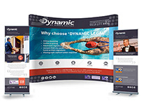 Dynamic Exhibition Stand & Flyers