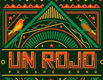 Un Rojo - Reggae flyers