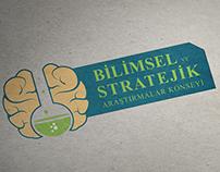 Bilimsel ve stratejik araştımalar konseyi logo çalıması