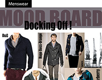 Menswear Client Design Board Examples