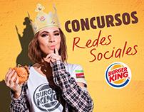 Burger King-Social Media contests
