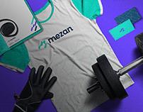 Mezan brand design.