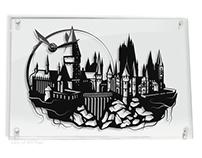 Hogwarts Castle - hand cut paper