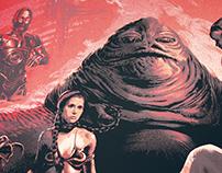 Star Wars Poster (Return of the Jedi)