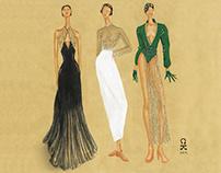 Fashion Illustration 2_Elegant Dress Collection