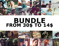 6 IN 1 Photoshop Actions Bundles Download