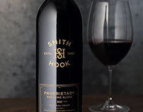 Smith and Hook Wine Label & Packaging