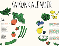 Saisonkalender I Seasonal Calendar