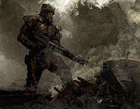 Concept Arts - Fallen Steel - Student PC Game