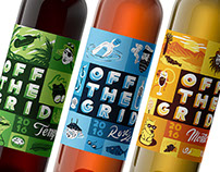 Off The Grid Wine Labels