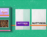 NUTTYBON nuts snack Design
