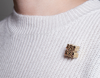 Tube Brooches