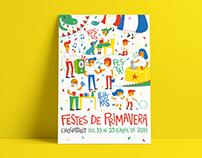 Festes de Primavera '18 / L'Hospitalet (3r premi)