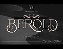 FREE | Berold Artistic Modern Serif