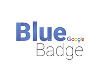 Blue badge Google