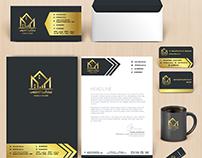 Identity Corporate - هوية تجارية مركز البيت القطيفي