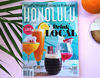 Drink Local feature for Honolulu Magazine