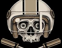 Skull & Bomb