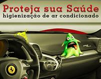 Higienização de ar automotivo