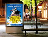 Zeytinburnu Belediyesi İstanbul'un Fethi Afişleri