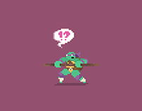 Teenage Mutant Ninja Turtles - #pixelart