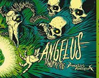 'Angelus Hoppy Pils' Beer Bottle Art