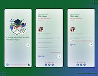 CGPA Calculation App