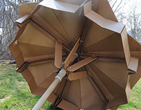 Cardboard Umbrella