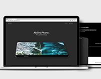 ABILITY PHONE - Web Design/Coding