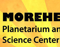 UNC Morehead Planetarium Rack Card