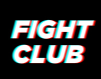 Fight Club Kinetic Type