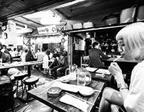 Tokyo - B/W Film - Wide Angle