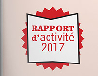 BROCHURE RAPPORT D'ACTIVITÉ