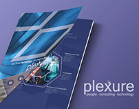 Plexure Singapore CRM Software brochure design