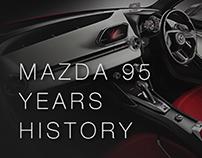 Mazda 95 years history