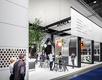 Exhibition Stand for Eternit @ Batibouw 2017