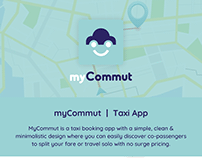 MyCommut - Taxi Booking App