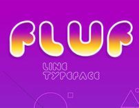 Fluf Line | Typeface