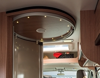Motorhome space shower for Knaus-Tabbert GmbH