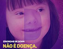 Síndrome de Down não é doença