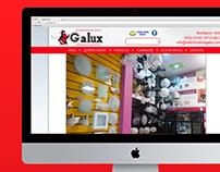 Distribuidora Galux |Diseño Web Joomla