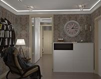 Визуализация интерьера квартиры.