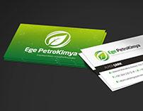 Ege PetroKimya - Business Card Design