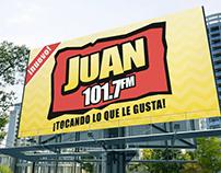 Juan 101.7 FM Billboard