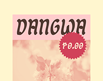 Dangwa Free — Brush Typeface