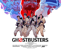 Ghostbusters Screenprint | Mondo